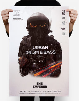 drum & bass flyer