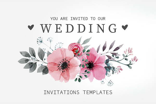 Top 20 Beautiful Wedding Invitation Templates