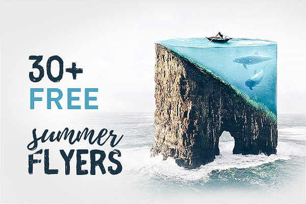 30+ Best Free Summer Flyer Templates
