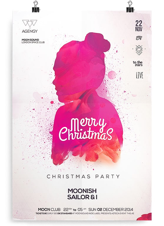 Christmas Flyers.Colorphonize Poster