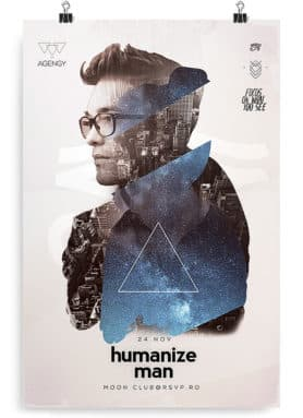 humanize flyer