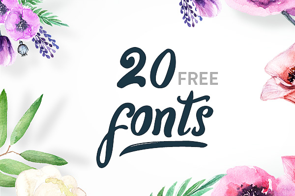 20 Amazing Free Fonts for Designers