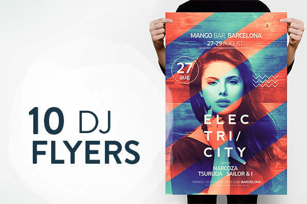 10 Best DJ Flyer Templates