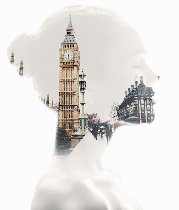 double exposure ps action