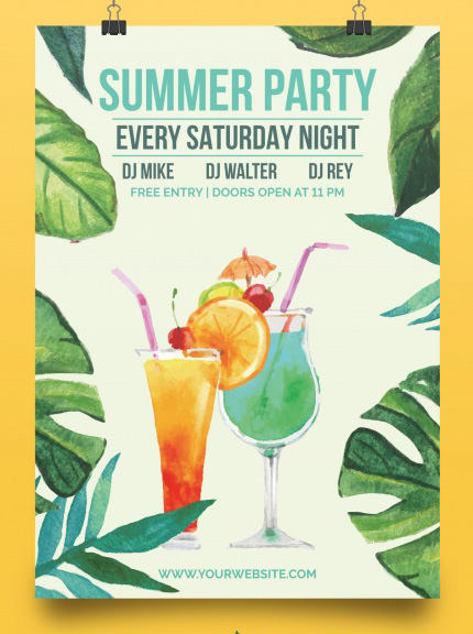 free summer party