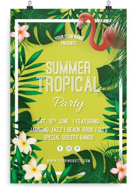 Summer Tropical Flyer