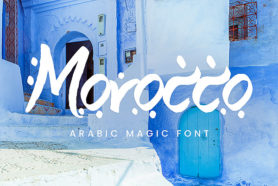 arabic magic font