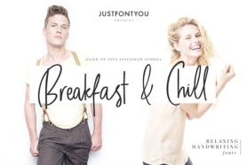 breakfast & chill font