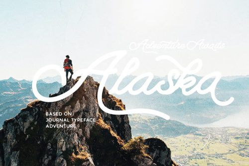 campground free font