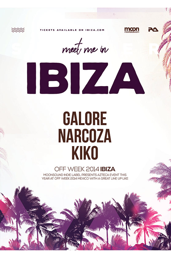 ibiza summer flyer template