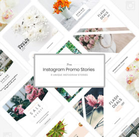 instagram promo template